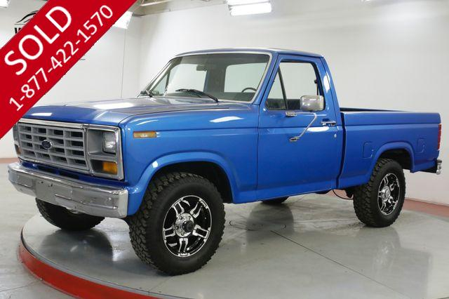 1981 FORD F150 SHORT BED 4x4 LOW MILES 1 OWNER COLLECTOR