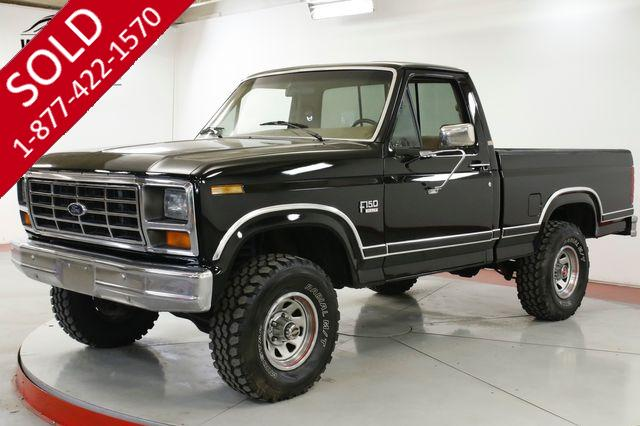 1986 FORD  F150 XLT 4x4 LARIAT RARE SHORT BED 302 FUEL INJECT