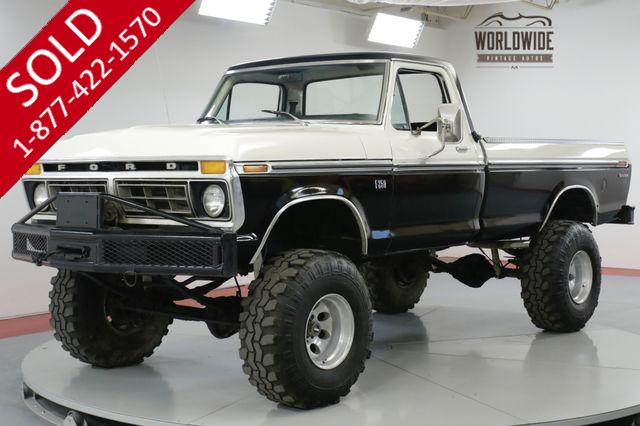 1976 FORD  F250  TRUCK. 4x4. HIGH BOY. WINCH. LIFT. COLLECTOR