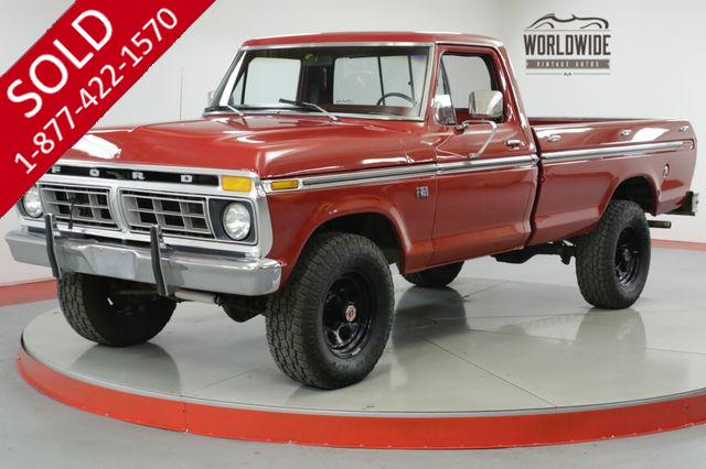 1976 FORD  F250  HIGH BOY 4x4 COLLECTOR LOW MILES MUST SEE
