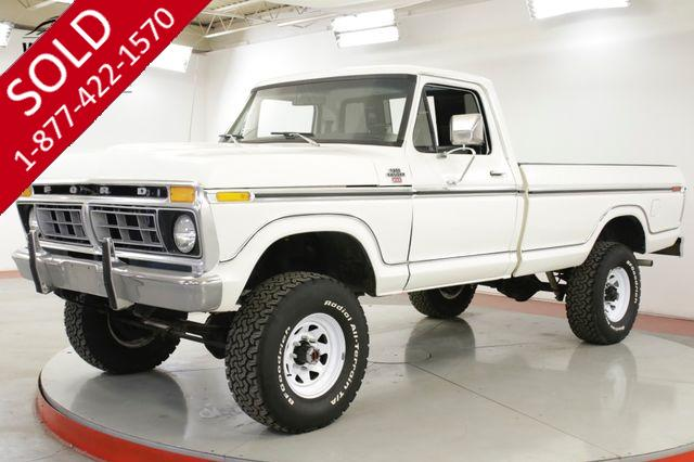 1977 FORD F250 XLT 351M 4-SPEED 4X4 PS PB EXTREMELY CLEAN