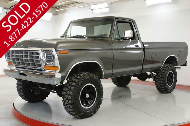 1978 FORD  F250 FRAME OFF RESTORATION 460 LIFT PB MUST SEE