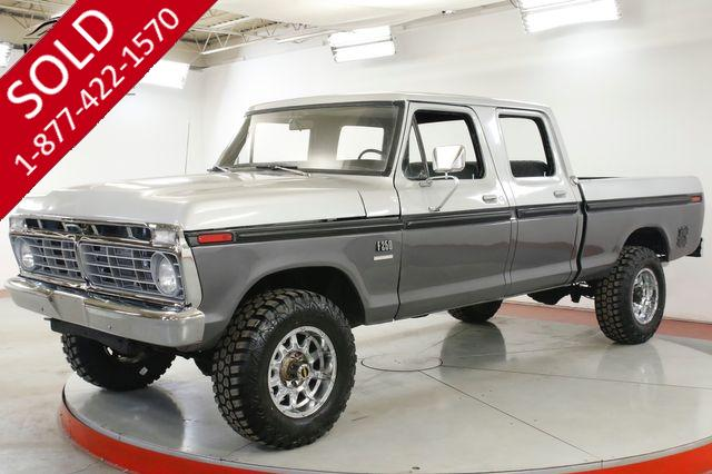 1974 FORD F250 RARE HIGHBOY CREW CAB 4x4! 360 V8 PS PB