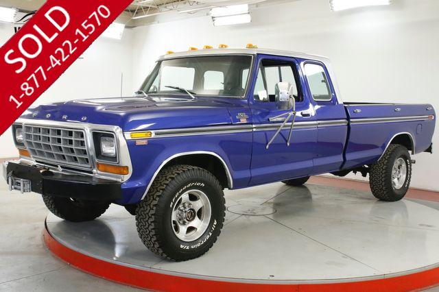 1976 FORD F250 BIG BLOCK 460 CID V8 AUTO PS PB FRONT DISC