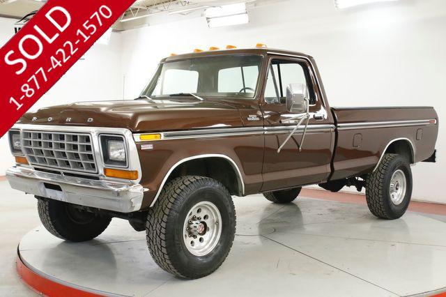 1978 FORD F250  CAMPER SPECIAL 4x4 BUILT 351 V8 PS PB
