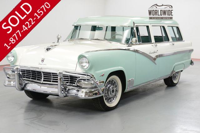 1956 FORD FAIRLANE COUTRY  TOP OF THE LINE 312 THUNDERBIRD V-8