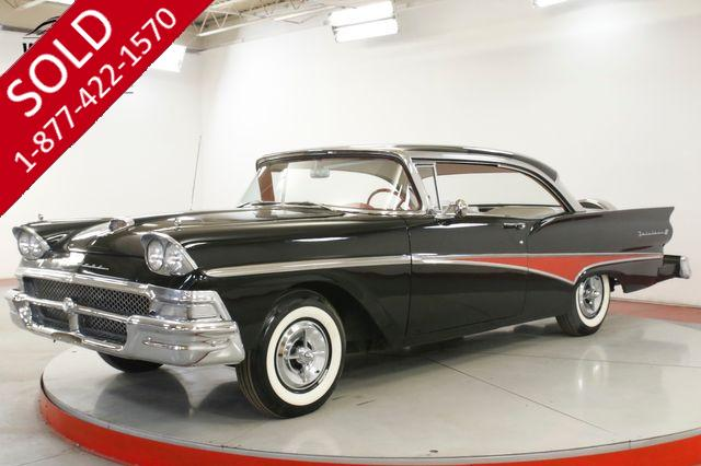 1958 FORD FAIRLANE PROF RESTORATION 352 V8 CHROME CONTINENTAL
