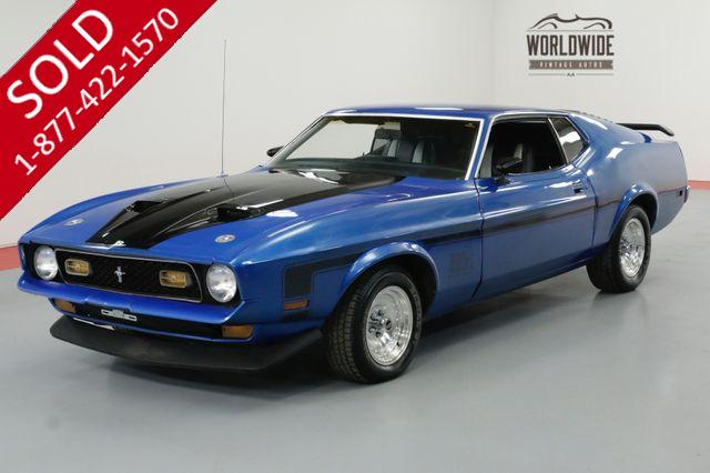 1972 FORD MUSTANG MACH 1 351 V8