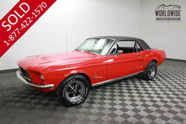 1968 Ford Mustang for Sale