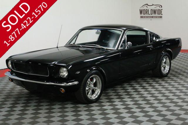 1965 FORD MUSTANG FASTBACK 4-SPEED DUAL EXHAUST