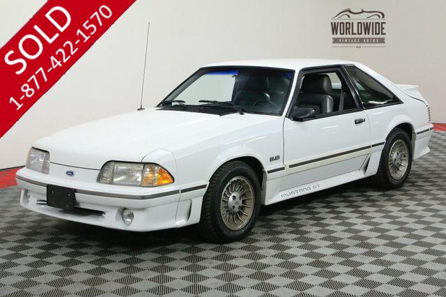 1987 FORD MUSTANG GT ONE OWNER 64K MILES COLLECTOR GRADE