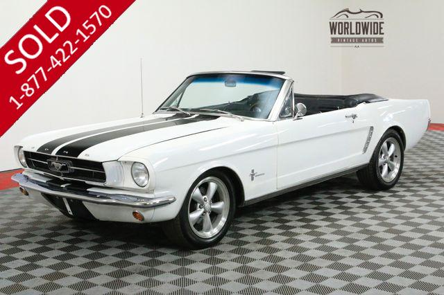 1965 FORD MUSTANG 5.0L FUEL INJECTED AOD TRANSMISSION PS PB