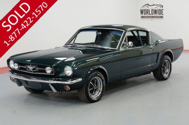 1965 FORD MUSTANG K-CODE FASTBACK. RESTORED. V8