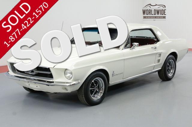 1967 FORD MUSTANG 289 V8 PS PB