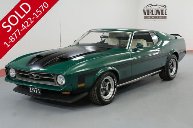 1971 FORD MUSTANG MATCHING NUMBERS 351V8 4BBL MACH 1