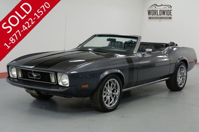 1971 FORD MUSTANG  POWER TOP 302V8 C4 AUTO TRANSMISSION. PS PB