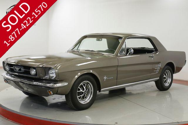 1966 FORD MUSTANG 289V8 AUTO FRONT DISC BLUETOOTH RADIO