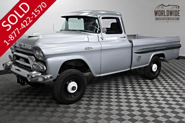 1958 GMC 100 for Sale