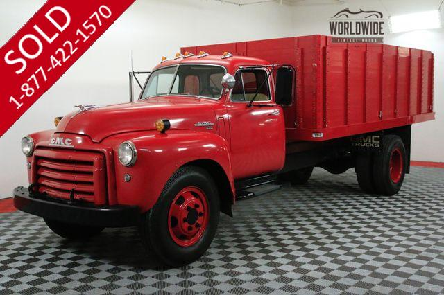 1951 GMC 450 CAR HAULER 5 WINDOW HYDRAULIC BED RESTORED