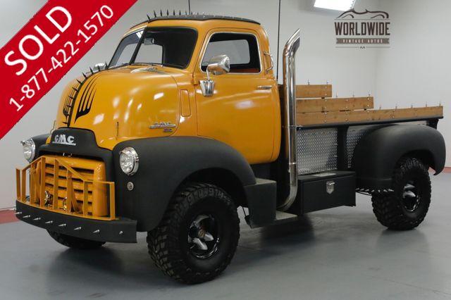 1950 GMC COE 450. CABOVER. 4x4! CUSTOM. V8! SHOW WINNER.