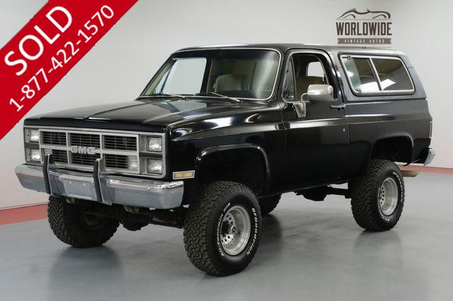 1983 GMC JIMMY CONVERTIBLE HARD TOP 350 V8 4X4 LIFTED