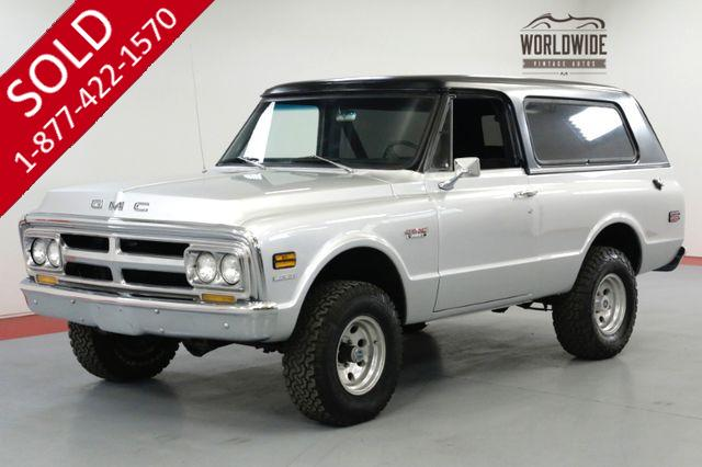 1970 GMC JIMMY RESTORED 4x4 RARE 1ST GEN CONVERTIBLE PS V8.