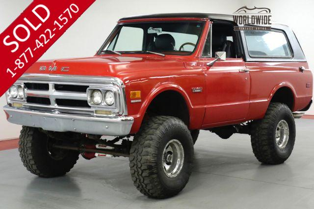1972  GMC JIMMY RESTORED CUSTOM 4x4 CONVERTIBLE RARE. BLAZER