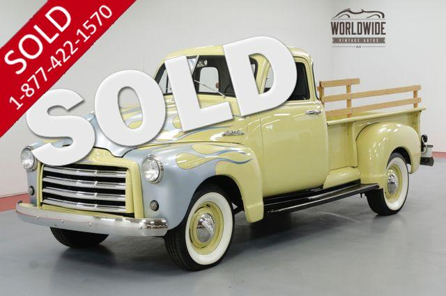 1952 GMC PICKUP 5 WINDOW CUSTOM 235CU 4 SPEED MANUAL