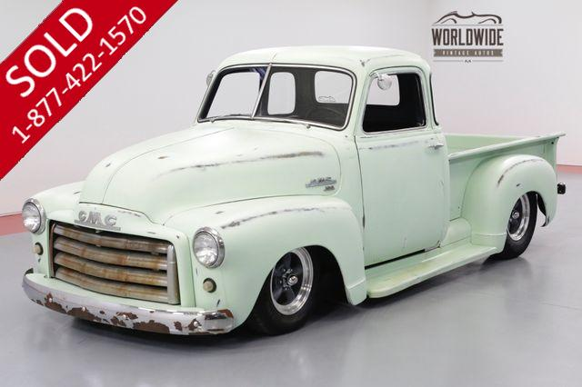 1950 GMC TRUCK 5 WINDOW HOT ROD NEW 350 V8 5 SPEED PS PB