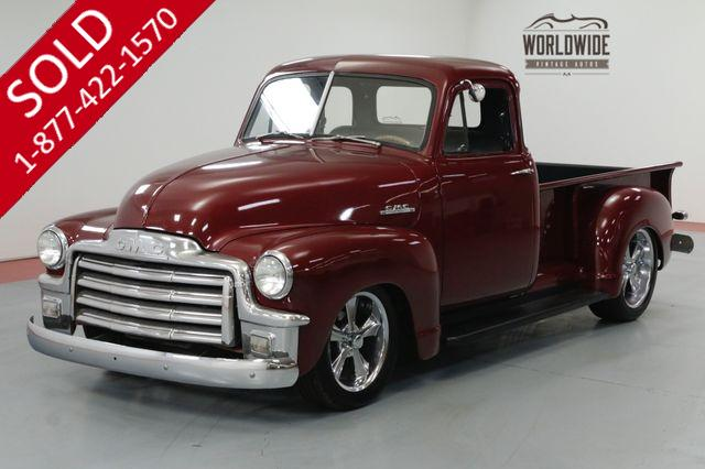 1953 GMC TRUCK FIVE WINDOW. HOT ROD. MUSTANG II. V8. PS PB