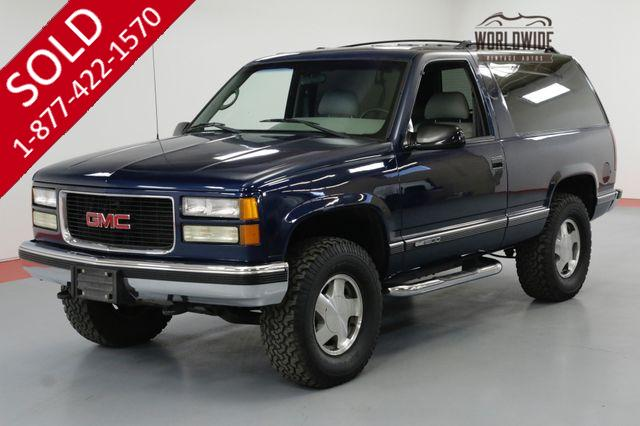 1995 GMC YUKON $60K+ RESTORATION NICEST AROUND SHOWROOM