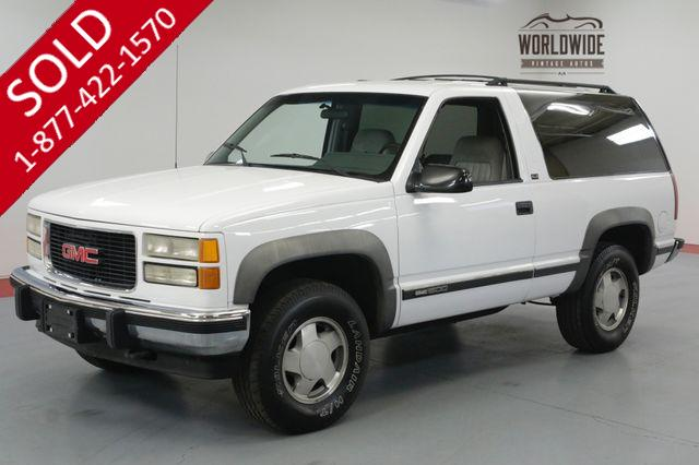 1994 GMC YUKON BLAZER. ONE OWNER. 70K ACTUAL MILES COLLECTOR.