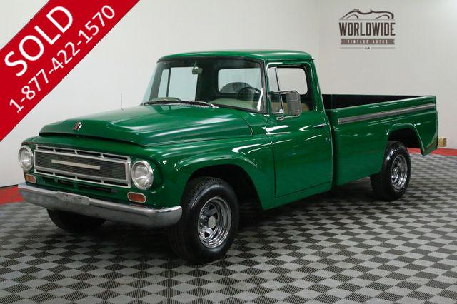 1967 INTERNATIONAL PICKUP FULL SIZE BED STRONG RUNNING AND CLEAN