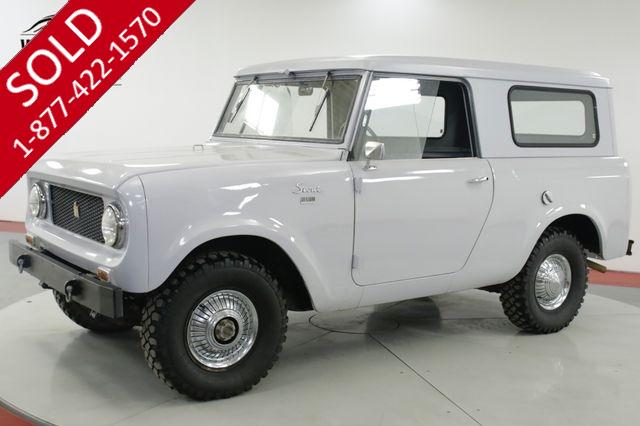 1963 INTERNATIONAL  SCOUT 80 STOCK AND CLEAN REMOVABLE TOP MUST SEE
