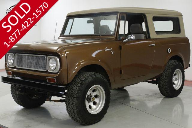 1968 INTERNATIONAL  SCOUT 800 4X4 NEW PAINT REMOVABLE TOP