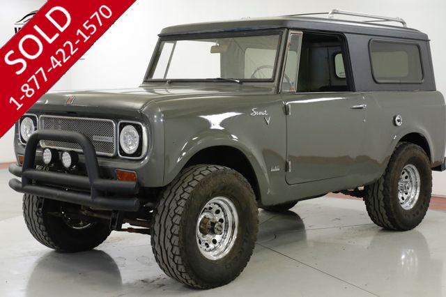 1969 INTERNATIONAL  SCOUT 800 304 V8 3-SPEED 4X4 CONVERTIBLE TOP