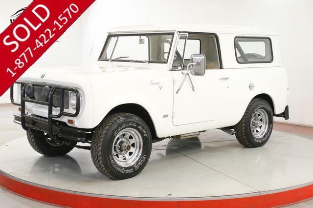 1967 INTERNATIONAL SCOUT 800 RARE V8 4X4 CONVERTIBLE 65K ORIGINAL MILES!