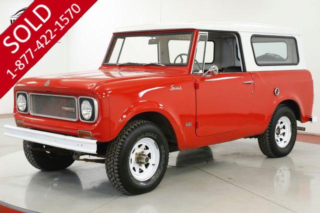 1970 INTERNATIONAL SCOUT 800A CONVERTIBLE TOP CLEAN DRIVER WINTER READY