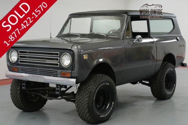 1972 International SCOUT II 304V8. AUTOMATIC. 4X4. LIFTED. MUST SEE!