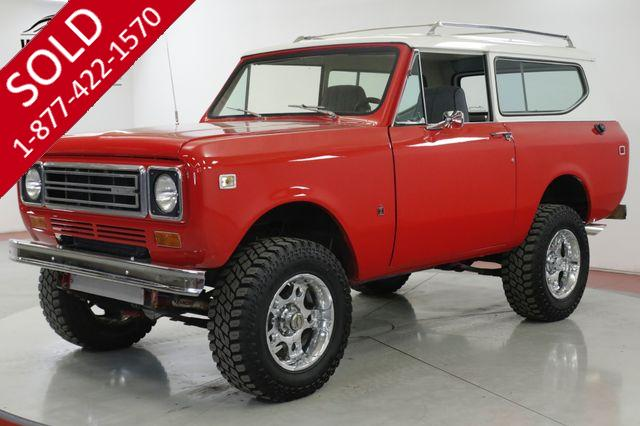 1977 INTERNATIONAL  SCOUT II VORTEC POWERED! 4X4 REMOVABLE TOP PS PB