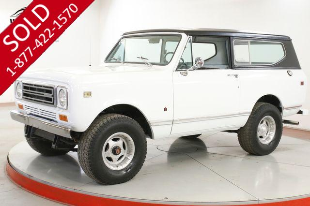 1979 INTERNATIONAL SCOUT II 345 V8 AUTO 4X4 A/C PS PB MUST SEE