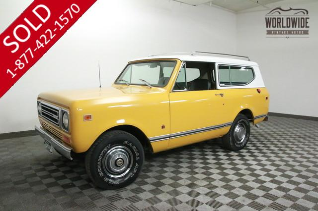 1978 International Scout V8 for Sale