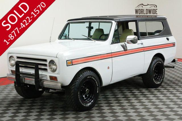 1971 INTERNATIONAL SCOUT RESTORED. AUTO! PS. PB. V8! 4x4