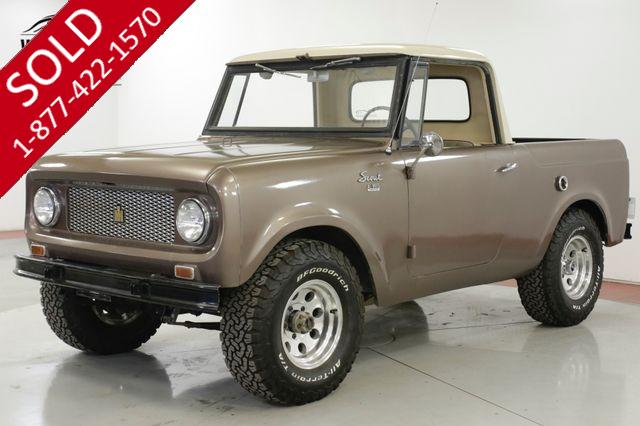 1964 INTERNATIONAL SCOUT RARE 4x4 DRY NV TRUCK LOW MILES COLLECTOR