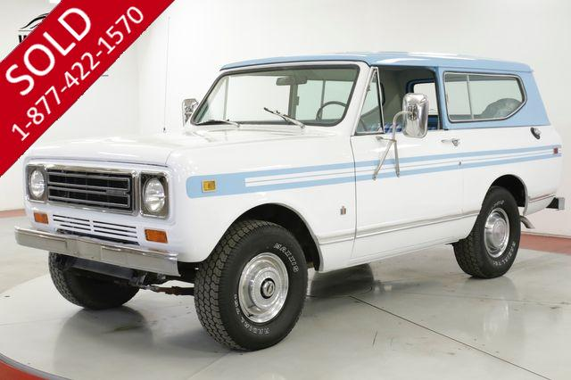 1979 INTERNATIONAL  SCOUT 4X4 PS PB ONE OWNER LOW MI CO TRUCK