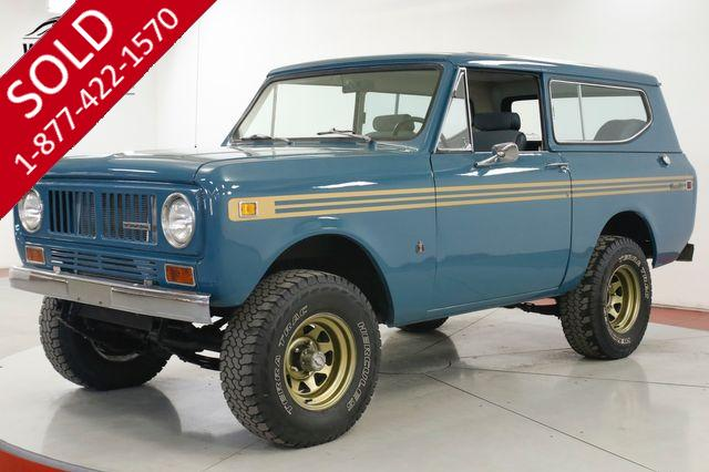1972 INTERNATIONAL SCOUT V8 4X4 PS PB LIFTED NEW PAINT/ DECAL HARDTOP (VIP)