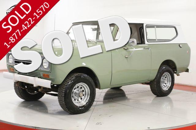 1974 INTERNATIONAL SCOUT  4X4 NEW PAINT 345 V8 HARDTOP GREAT DRIVER