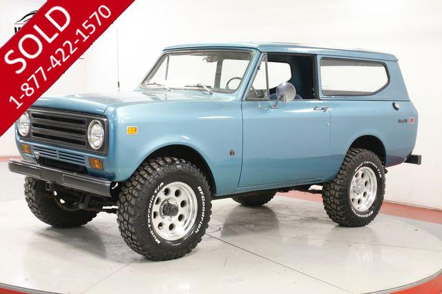 1972 INTERNATIONAL SCOUT  4X4 CLEAN NEW PAINT V8 HARDTOP UPGRADES
