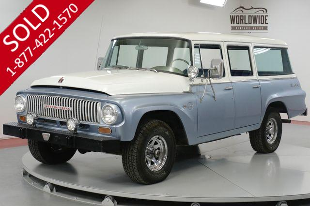 1965 INTERNATIONAL  TRAVELALL  RARE COLLECTOR. 392 V8 4X4. RESTORED.