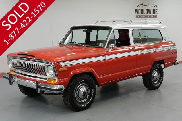 1975 JEEP CHEROKEE ONE OF A KIND. RARE!